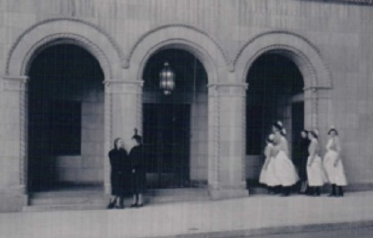 Entrance of Nurses Residence (Eli White Memorial) Alumnae Association of the St. Luke's Hospital School of Nursing